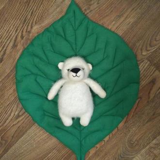Лист подушка для сидения в детскую, Диванные подушки декоративные гипоаллергенные, подарок девушке