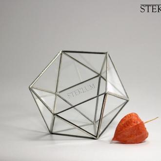 Флорариум №7 micro Basket silver