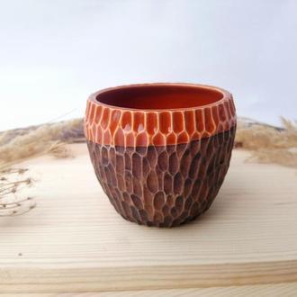 """Стакан керамічний """"Terracotta"""", 230 мл"""