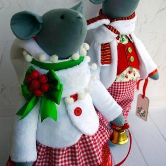 Мышки новогодние, Мышка Тильда