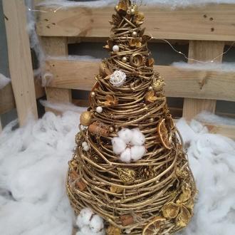 Интерьерная декоративная Елка к новому году 45 см см