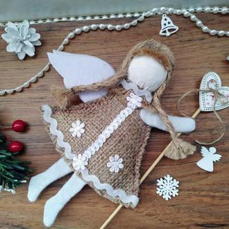 Новогодние игрушки Летящий Ангел  Игрушки на елку Новогодний декор