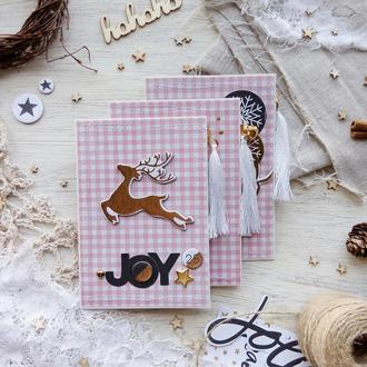 Рождественская открытка, набор