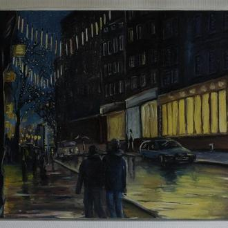 Картина масло, холст 40х30 Lubov Vakulenko №2007