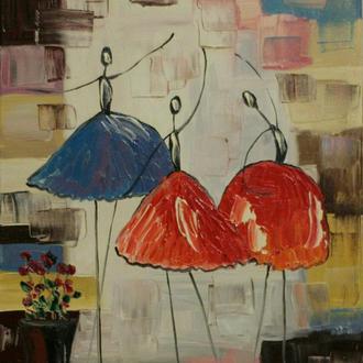 Картина масло, холст 40х30 Lubov Vakulenko №2022