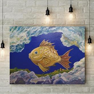 Облачная рыба