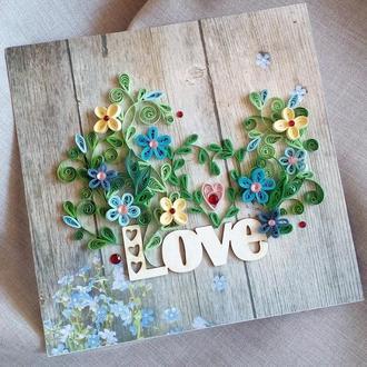 """Листівка """"Love"""""""