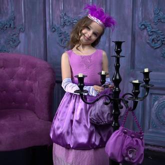 Эксклюзивное платье от дизайнера для девочки