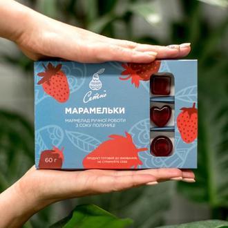 Мармелад клубничный на натуральном соке