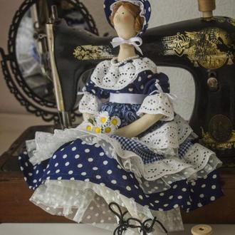 Кукла тильда Мадемуазель