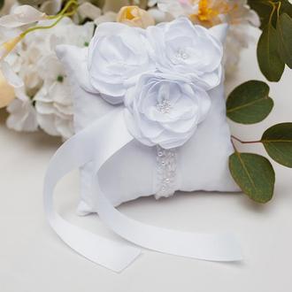 Подушечка Silk Flowers шелковая класса Люкс