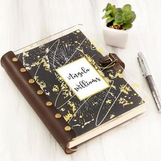 Органайзер-ежедневник «Gold dots» с цветной печатью
