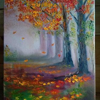"""Картина """"Краски осени"""""""