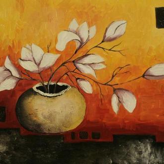 Картина масло, холст 40х60 Lubov Vakulenko №2053