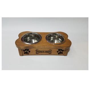 Миски на подставке PET's BAR для собак Косточка мини XS