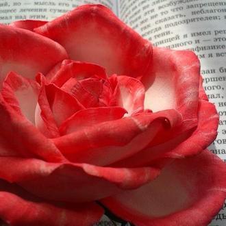 Роза (украшение для волос и брошь)