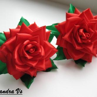 """Резинки для волос """"Королевская роза"""""""