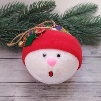 Шарик снеговик