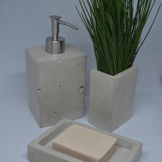 Набор для ванной из бетона