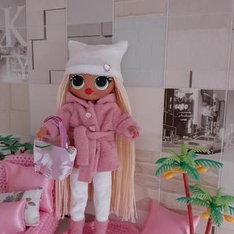 Зимовий набір одягу для ляльок Лол омг.