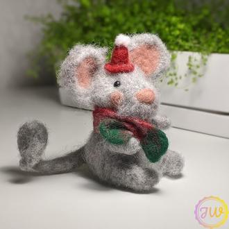 Новогодняя крыска