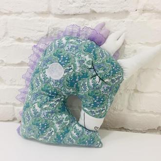 единорог подушка-игрушка сплюшка-детские игрушки для сна-подарки для  девочек на день рожденья