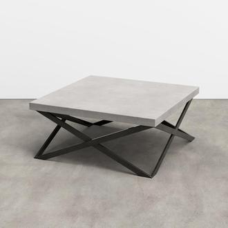 стол металлический для гостиной лофт