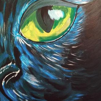 "Картина ""Кошачий глаз"""
