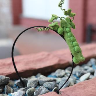 Обруч ′Зеленый горошек′