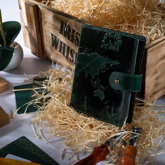 "КартХолдер HiArt CH-06 Crystal Green ""7 wonders of the world"""