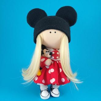 Интерьерная кукла Минни Маус