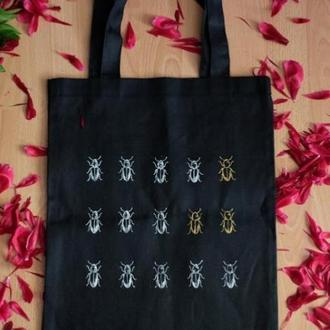 Уникальный шоппер/сумка для покупок с принтом
