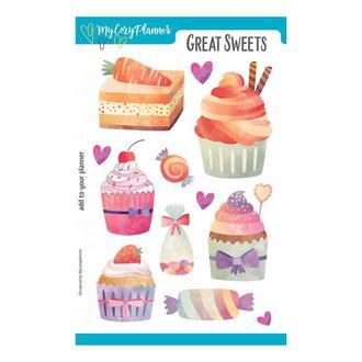 "Наліпки, наклейки, стикеры ""Great Sweets"""
