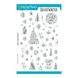 """Наліпки, наклейки, стикеры """"Silver Winter"""""""