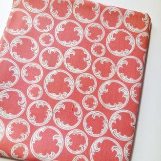 006 Американский хлопок 45х55 см. Ткань для пэчворка, квилтинга, рукоделия, игрушек, розовая бязь