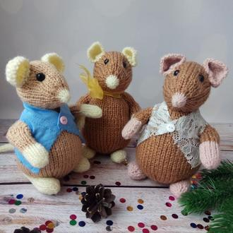Мышка новогодняя