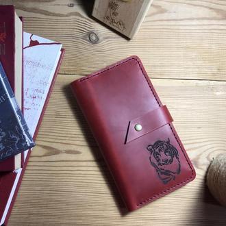 Женский/мужской портмоне для купюр, карт, документов