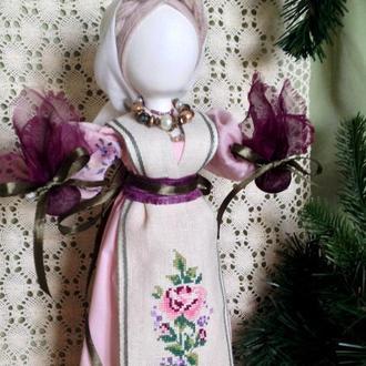 Лялька оберегова интерьерна, колекційна.
