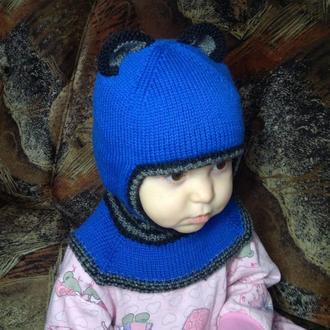 Шапка-шлем для мальчика или девочки