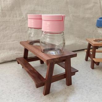 набор для специй в виде столика