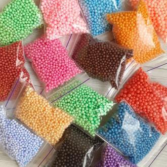 Шарики пенопластовые для поделок, рукоделия, воздушных шаров