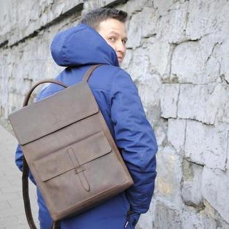 Рюкзак трансформер кожаный Jordan 017