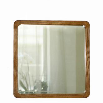 """Квадратное зеркало со скругленными углами с тонокой рамой """"Boston"""""""