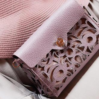 Женская маленькая кожаная сумка через плечо, поясная сумка, Сумка клатч.