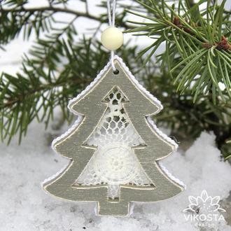 """Игрушка на елку """"Елочка"""", новогодняя елочная игрушка, подвеска на елку, новогодний декор"""