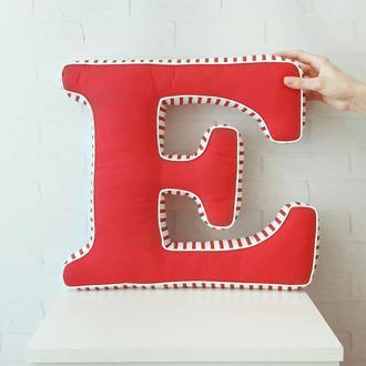 Мягкие буквы-подушки, буквы с засечками, мягкая буква Е