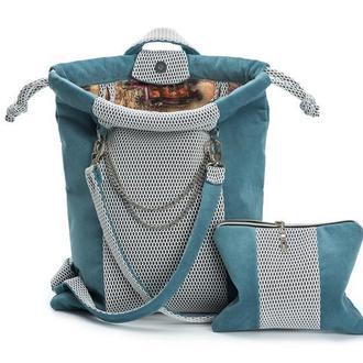 Рюкзак цвет морской волны