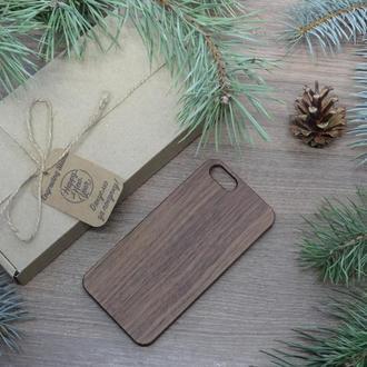 """Лазерне гравіювання на Дерев'яному чохлі """"Горіх"""" для Iphone 6 / 6S за індивідуальним дизайном"""