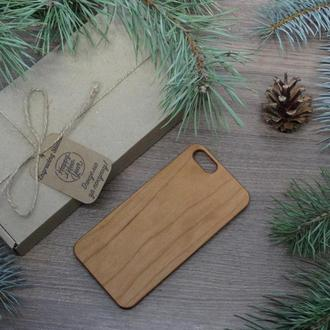 """Лазерне гравіювання на Дерев'яному чохлі """"Вишня"""" для Iphone 6 / 6S за індивідуальним дизайном"""