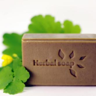 Herbal soap. На соке чистотела.